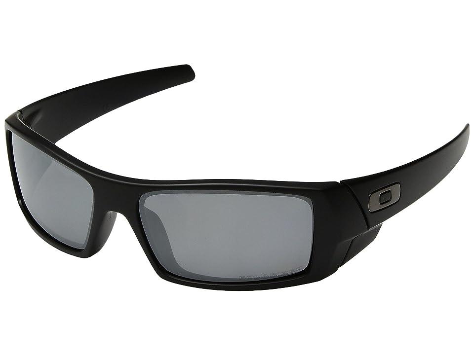 cdcd29288b Oakley GasCan(r) Polarized (Matte Black Black Iridium Polarized) Sport  Sunglasses
