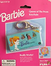 Barbie Queen of The Prom Keychain w Real Mini Game (1999)