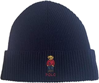 695f1ad1f3e Polo Ralph Lauren Unisex Bear Design Wool Winter Skulllie Cap Beanie Hat  One Size