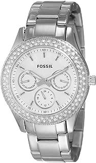 Fossil Women's Stella Analog Dial Watch Silver