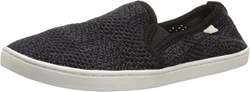 Sanuk Wohommes Brook Knit Knit Knit Loafer Flat, noir, 08 M US 609