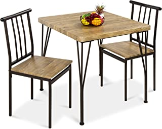 Best Choice Products 3-Piece Dining Set Modern Dining...