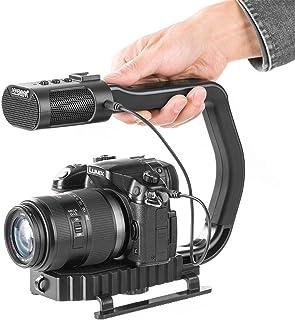 Sevenoak SK-GH07 Photographie Professionnelle T/ête de tr/épied /à cardan en Aluminium Durable /à 360 degr/és avec Plaque /à d/égagement Rapide Arca-Swiss pour cam/éscope DSLR Prend en Charge 10 kg