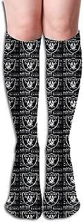 Marrytiny Custom Colourful Tennessee Titans Football Team Creativity Novel Women's Long Socks Girls Trendy Stocking