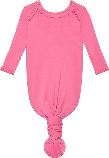 ثوب ناعم للبنات من Posh Peanut - ملابس لف من Bamboo Infant Layette - 0-3 أشهر