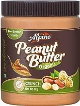 Alpino Organic Natural Peanut Butter Butter Crunch 1kg (Unsweetened / Gluten Free / Non-GMO)