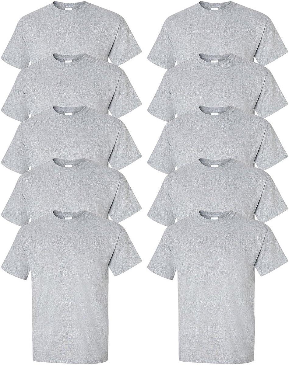 Gildan Ultra Cotton 6 oz. T-Shirt of G200 Max 69% OFF GREY 40% OFF Cheap Sale 10- Pack SPORT