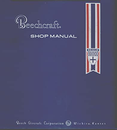 Amazon com: Beechcraft Shop Manual: Books