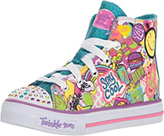 Skechers Kids' Shuffles-Trendy Talk Sneaker