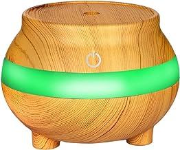 Humidificador Ultrasónico,JiaMeng Humidifie ultrasónico del aromaterapia del Aroma del difusor LED del Aceite Esencial del Aroma del Aire del USB - JMJS037