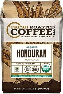 Honduran Marcala FTO Coffee, Whole Bean Coffee, Fresh Roasted Coffee LLC. (2 lb.)