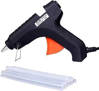 GLUN 40W Hot Melt Glue Gun Kit for Quick Repairs 11 mm with 10 Glue Sticks