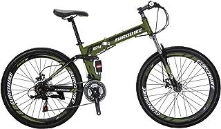 LZBIKE 自転車G4 26 マウンテンバイク 折りたたみ自転車 スチール自転車 21速シフト3×7速 自転車