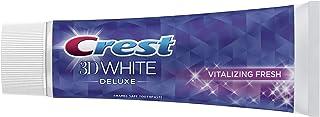 Crest 3D White Deluxe Vitalizing Fresh, Enamel Safe Toothpaste, 75 ml