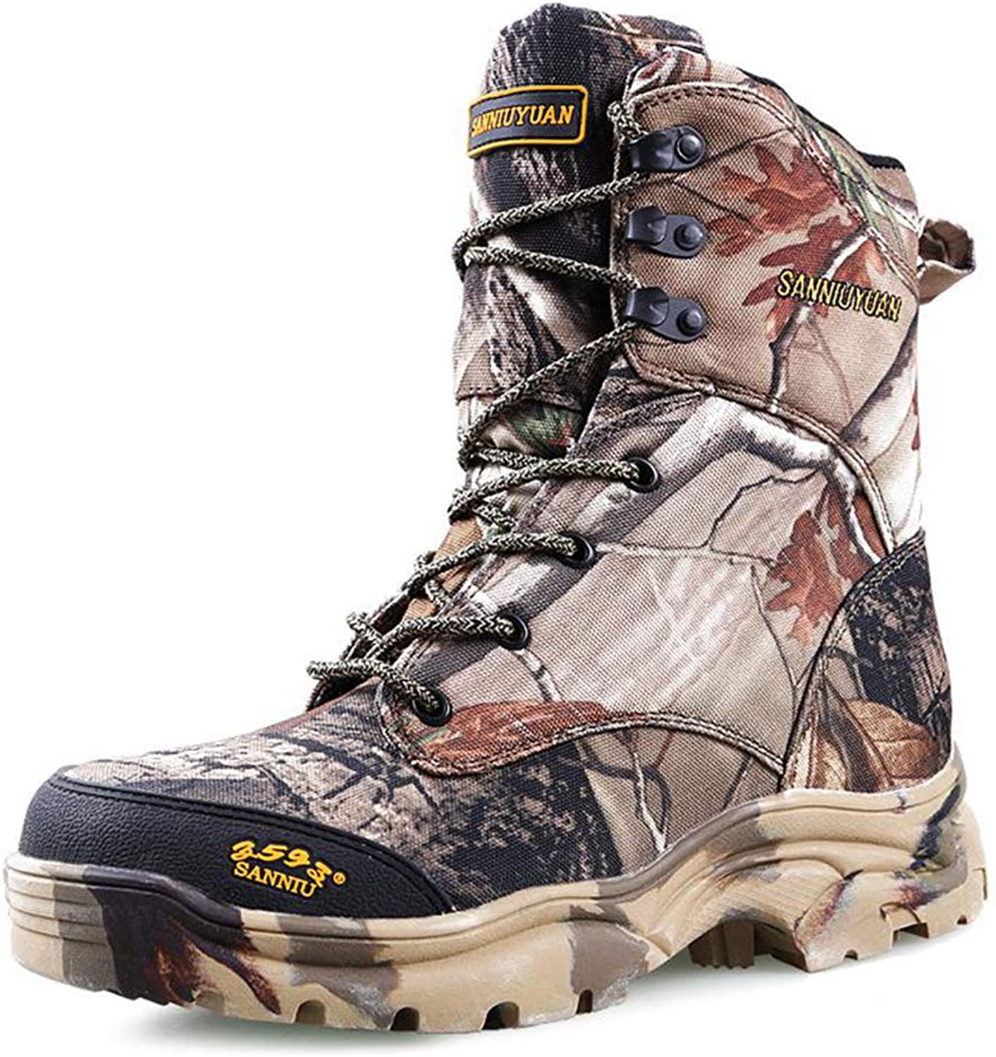 Bergort Hunting Boots Waterproof Outdoor Tactical Hunting Fishing Hiking shoes