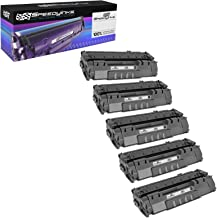 Speedy Inks Compatible Toner Cartridge Replacement for HP 49A (Black, 5-Pack)