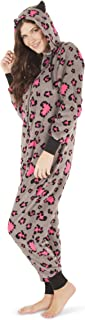 Women's Warm and Cozy Plush Adult Onesies for Women One Piece Novelty Pajamas Halloween