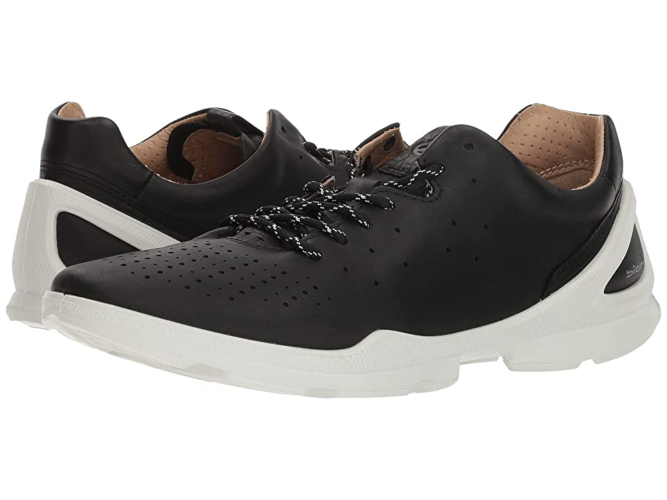 ECCO Biom Street Sneaker (Black Yak Leather) Women