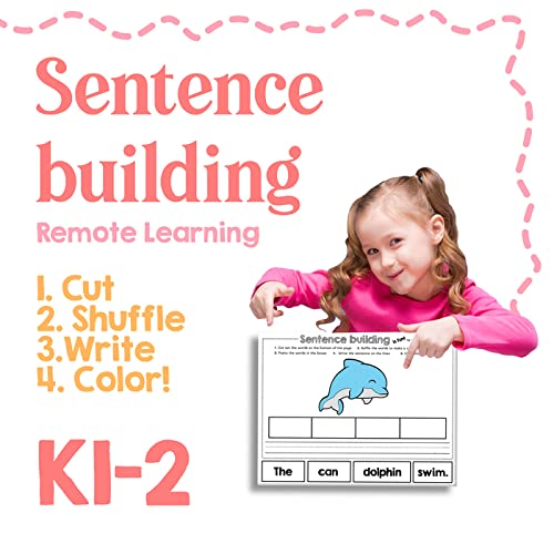 What's Included? 50 Ready To Print Worksheets (printer-friendly!) + 1  Certificate Of Completion! Have Your Child Use These Fun Worksheets Filled  With Mixed-up Sentences As A Way To Improve Comprehension And To Practice  Sight Words And Phonics Skills In A