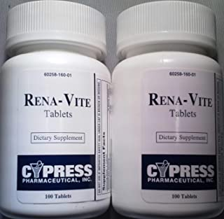 Cypress Rena-Vite Tablets, 100 Tablets each (Pack of 2)