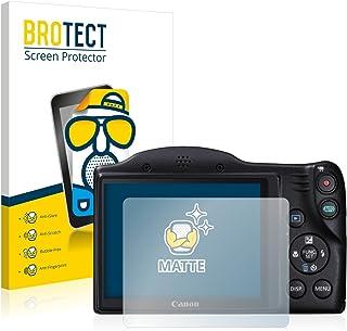 BROTECT Protector Pantalla Anti-Reflejos Compatible con Canon PowerShot SX400 IS (2 Unidades) Pelicula Mate Anti-Huellas