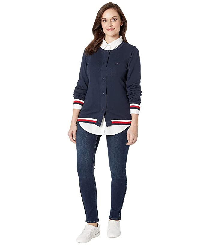 Tommy Hilfiger Mens Adaptive Cardigan Sweater with Magnetic Buttons