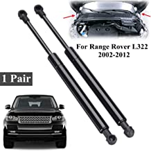 2pcs Car Front Bonnet Hood Support Gas Struts Lid BKK760010 For Range Rover L322 2002-2012