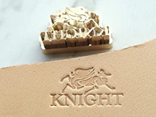 Leathersy Customized Brass Stamp for Vegetable Tanned Leather Hammer Press Embossing (≤ 70mm (2.8