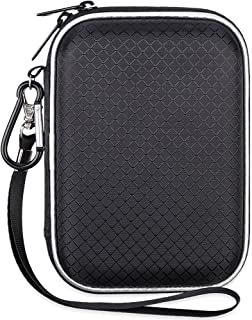 Lacdo EVA Shockproof Carrying Travel Case for 2.5-Inch Portable External Hard Drive, Seagate Expansion, Toshiba Canvio Basics, Silicon Power, GPS Camera and External Battery Pack, Large Size