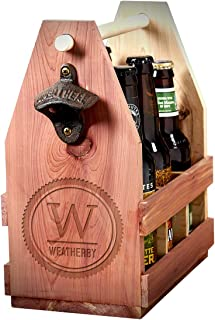 Thurston Custom Summit Wooden Beer Caddy (Personalized Product)