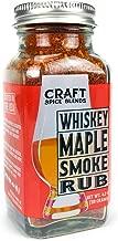 Whiskey Maple Smoke - All Purpose Rub / Seasoning - Craft Spice Blends - Smokehouse Specialty Rub - Dry Rub for Smoking Meat - Jerky Seasoning