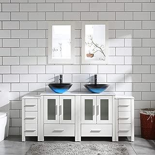 Best 48 double sink bathroom vanity Reviews