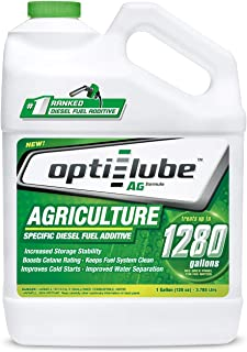 Opti-Lube Ag Agriculture Formula Diesel Fuel Additive (1 Gallon (Treats 1280 Gallons))