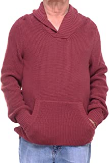 American Rag Mens Ribbed Knit Shawl Collar Pullover Sweater