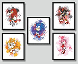 """11/"""" x 17/"""" Sonic the Hedgehog Set of 3 Movie Collector/'s Poster Prints"""