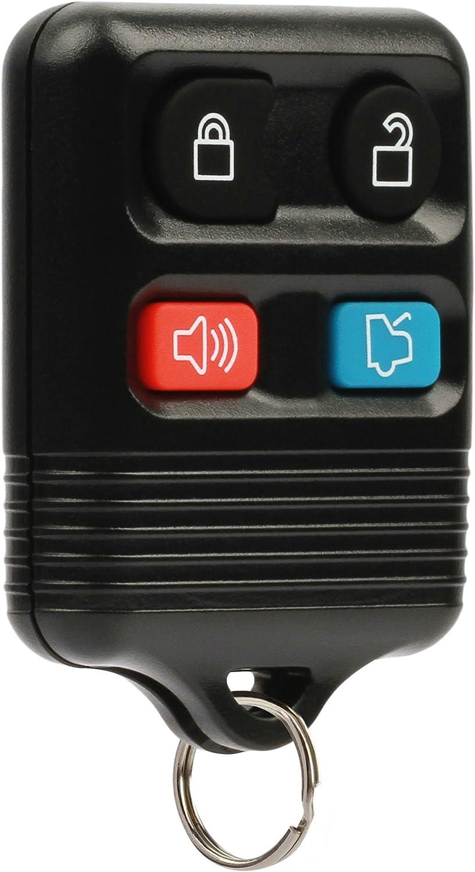 Car Key Fob Keyless Entry Remote fits Ford, Lincoln, Mercury, Mazda Mustang (CWTWB1U345)