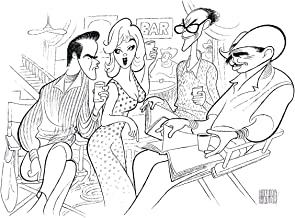 Al Hirschfeld's THE MISFITS Hand Signed Limited Edition Lithograph