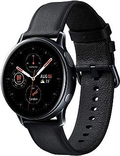 Galaxy Watch Active2 / Stainless steel/ブラック / 40mm [Galaxy純正スマートウォッチ 国内正規品] SM-R830NSKAXJP