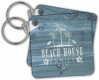 beach house keychain