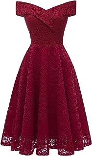 32fa68bd86b5 Amazon.es: vestido años 50 - HaiDean / Vestidos / Mujer: Ropa