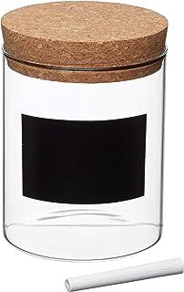 Kitchen Craft Natural Elements - Recipiente para Pasta (13 cm, Cristal)
