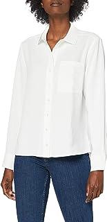 Lacoste Cf2526 Camicia, Farina, 44 Donna