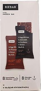 RX bar Variety Pack Chocolate Sea Salt & Chocolate Peanut Butter, 29.28 oz, 16 Count