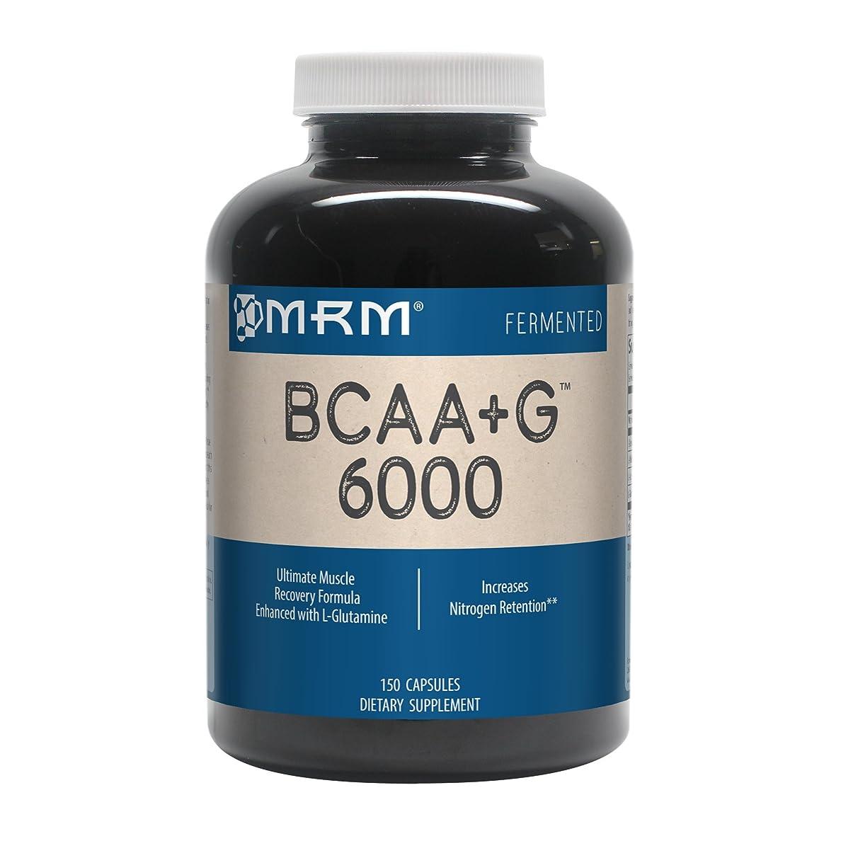 滑り台事件、出来事外出MRM - BCAA+G 6000 - 150カプセル