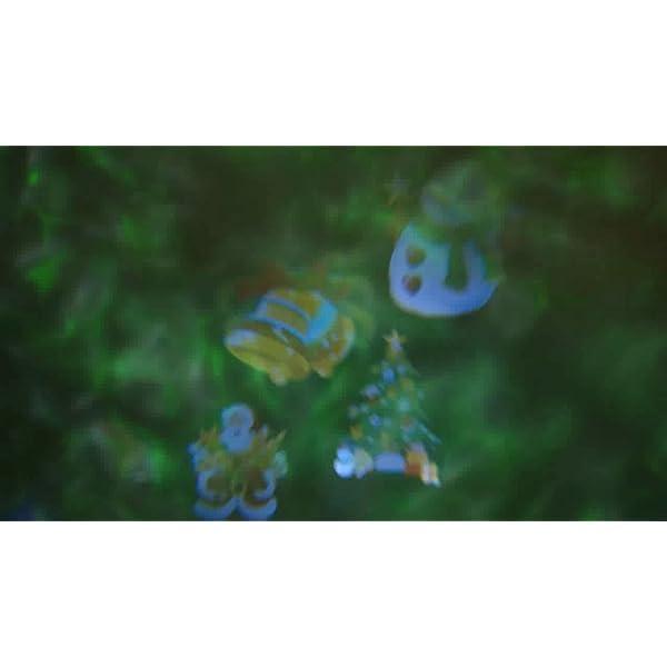 Natale Halloween Lampada per Proiettore LED, 20 Modelli ALED LIGHT Luce per Proiettore Impermeabile con Motivo a Onde d'Acqua con Telecomando Decorazione di illuminazione Festa Natale Interno Esterno 7 spesavip