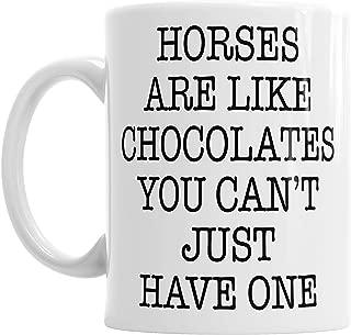 Moson Horses Chocolates Equestrian Mothers Day Mum Mummy Birthday Rider Coffee Tea Mug