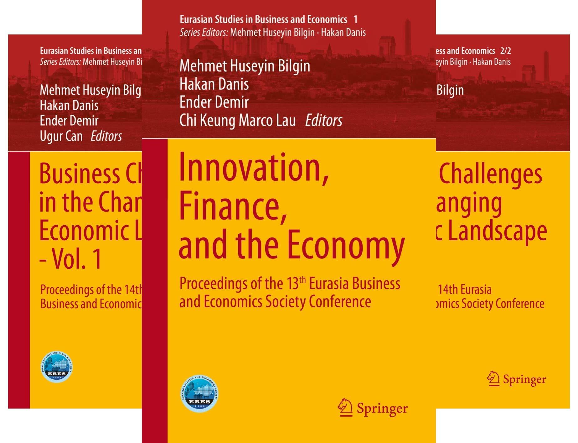 Eurasian Studies in Business and Economics (23 Book Series)