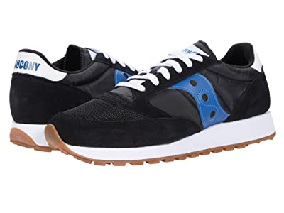 Saucony Originals Jazz Original Vintage (Black/Blue) Men