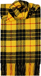 MacLeod Dress Tartan Scarf Modern Lambswool