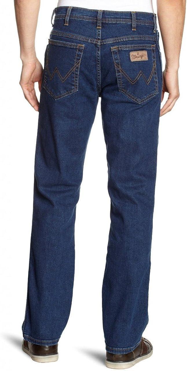 Wrangler Texas Contrast Jeans Homme Bleu (Stonewash 010)
